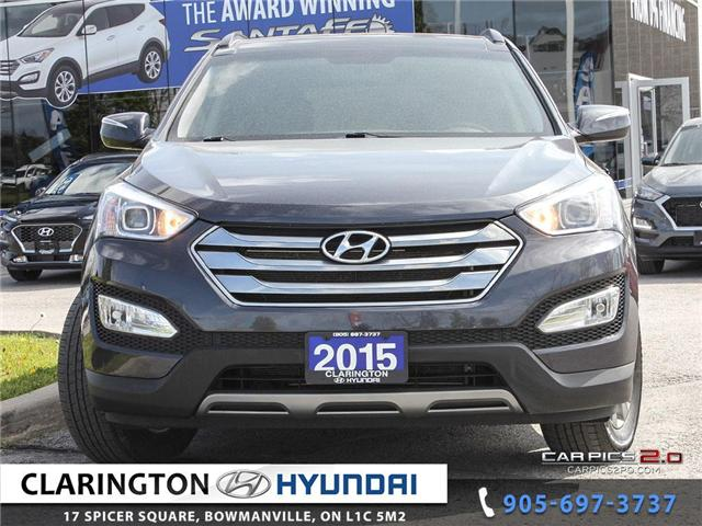 2015 Hyundai Santa Fe Sport 2.4 Luxury (Stk: U899) in Clarington - Image 2 of 27