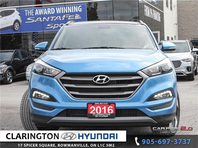 2016 Hyundai Tucson Limited (Stk: 19206A) in Clarington - Image 2 of 27
