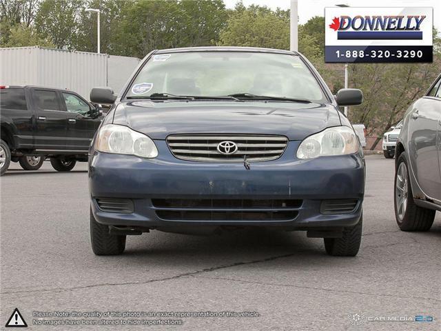 2003 Toyota Corolla CE (Stk: PBWDU5989B) in Ottawa - Image 2 of 29