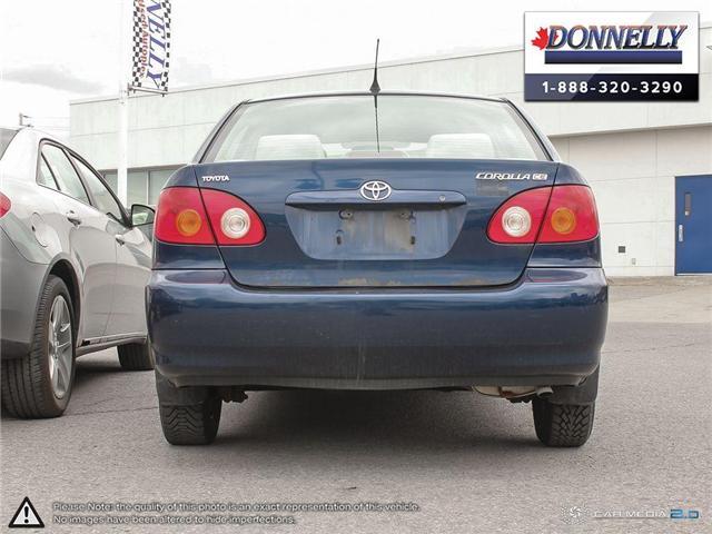 2003 Toyota Corolla CE (Stk: PBWDU5989B) in Ottawa - Image 5 of 29