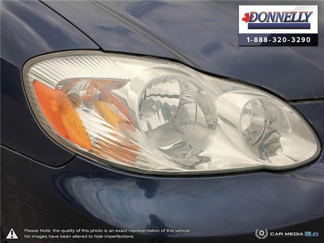 2003 Toyota Corolla CE (Stk: PBWDU5989B) in Ottawa - Image 8 of 29