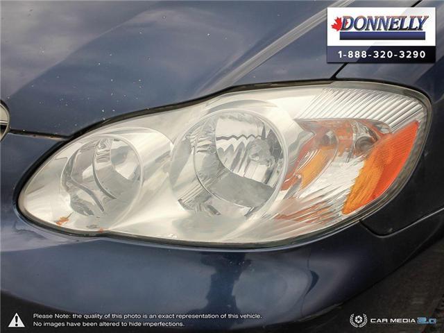 2003 Toyota Corolla CE (Stk: PBWDU5989B) in Ottawa - Image 9 of 29