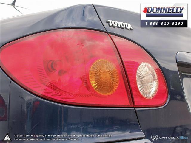 2003 Toyota Corolla CE (Stk: PBWDU5989B) in Ottawa - Image 11 of 29