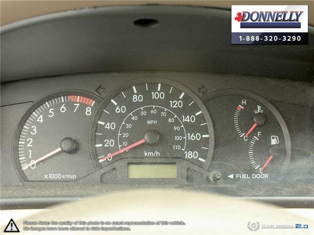 2003 Toyota Corolla CE (Stk: PBWDU5989B) in Ottawa - Image 14 of 29