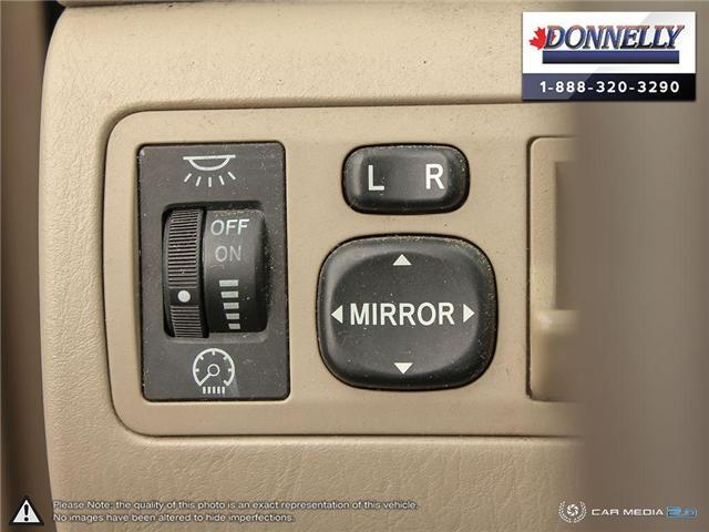 2003 Toyota Corolla CE (Stk: PBWDU5989B) in Ottawa - Image 25 of 29