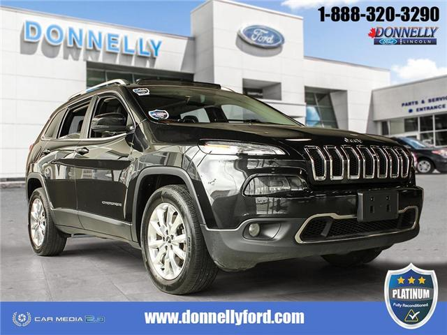 2016 Jeep Cherokee Limited (Stk: PLDS695A) in Ottawa - Image 1 of 29