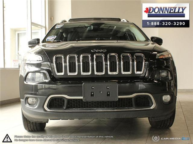 2016 Jeep Cherokee Limited (Stk: PLDS695A) in Ottawa - Image 2 of 29