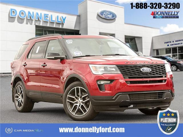 2019 Ford Explorer Sport (Stk: PLDU6145) in Ottawa - Image 1 of 29