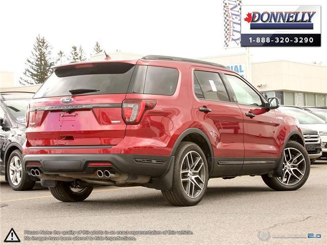 2019 Ford Explorer Sport (Stk: PLDU6145) in Ottawa - Image 4 of 29