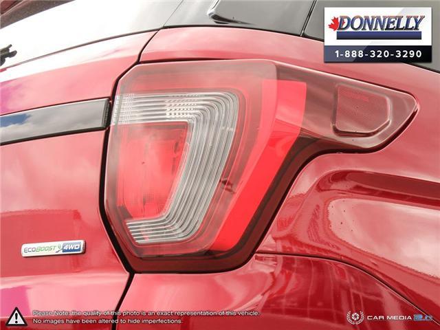 2019 Ford Explorer Sport (Stk: PLDU6145) in Ottawa - Image 11 of 29