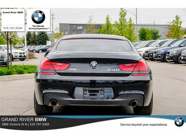 2018 BMW 640i xDrive Gran Coupe (Stk: 8001A) in Kitchener - Image 6 of 22