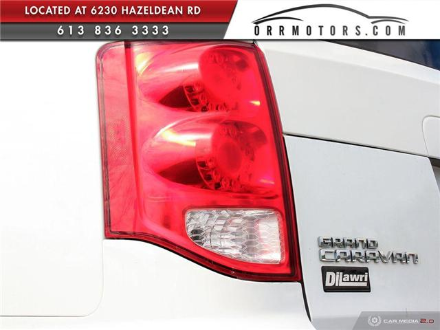 2014 Dodge Grand Caravan 29G SXT (Stk: 5595-1) in Stittsville - Image 10 of 28