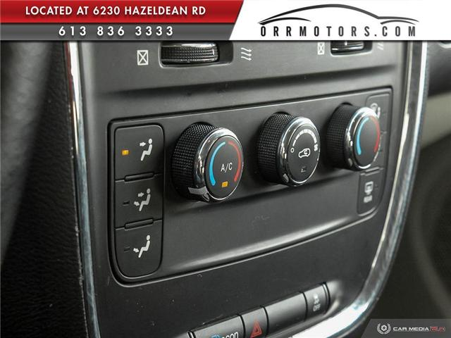 2014 Dodge Grand Caravan 29G SXT (Stk: 5595-1) in Stittsville - Image 19 of 28