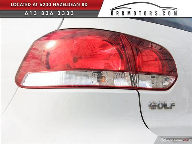 2012 Volkswagen Golf 2.0 TDI Comfortline (Stk: 5767) in Stittsville - Image 10 of 28