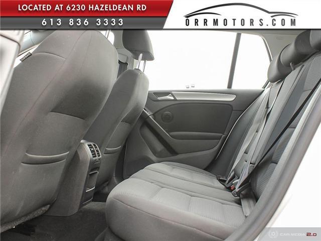 2012 Volkswagen Golf 2.0 TDI Comfortline (Stk: 5767) in Stittsville - Image 24 of 28