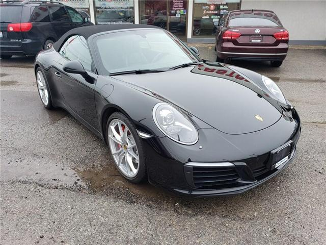 2017 Porsche 911 CARRERA S CABRIOLET | NAVI | B/U CAM | CARPLAY (Stk: P12153) in Oakville - Image 2 of 20