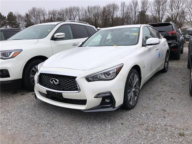 2019 Infiniti Q50 3.0t Signature Edition (Stk: 19Q5010) in Newmarket - Image 1 of 5