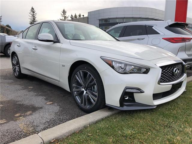 2019 Infiniti Q50 3.0t Signature Edition (Stk: 19Q5017) in Newmarket - Image 2 of 5
