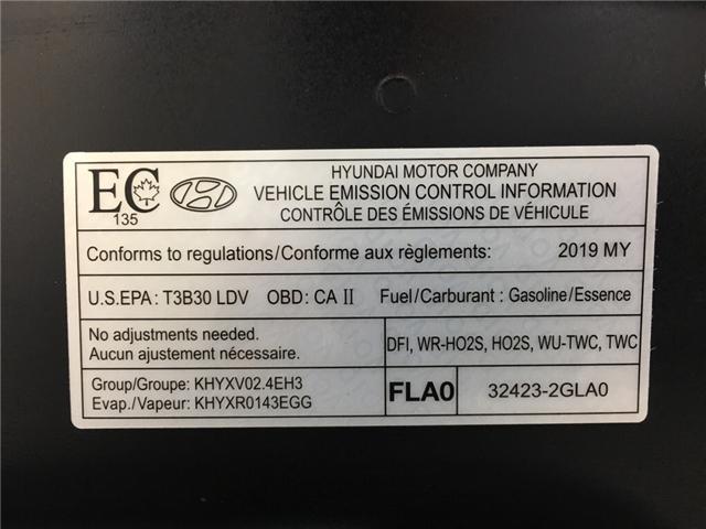 2019 Hyundai Sonata ESSENTIAL (Stk: 35074W) in Belleville - Image 25 of 29