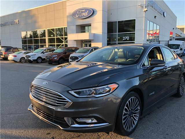 2018 Ford Fusion Hybrid Titanium (Stk: RP19173) in Vancouver - Image 1 of 25