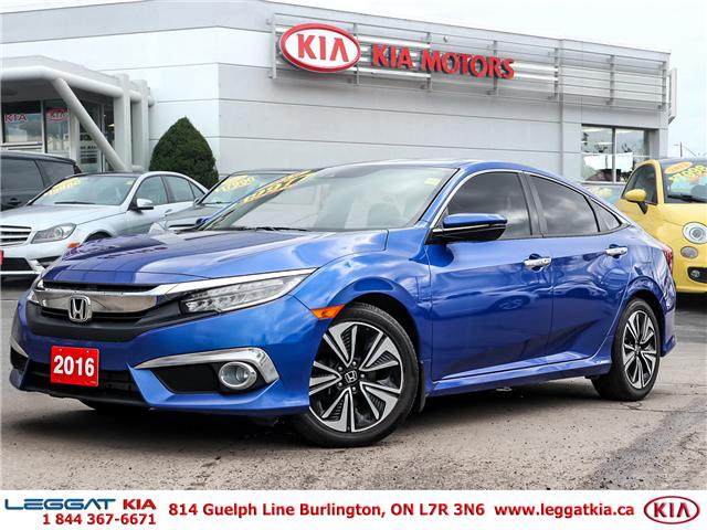 2016 Honda Civic Touring (Stk: 2366) in Burlington - Image 1 of 26