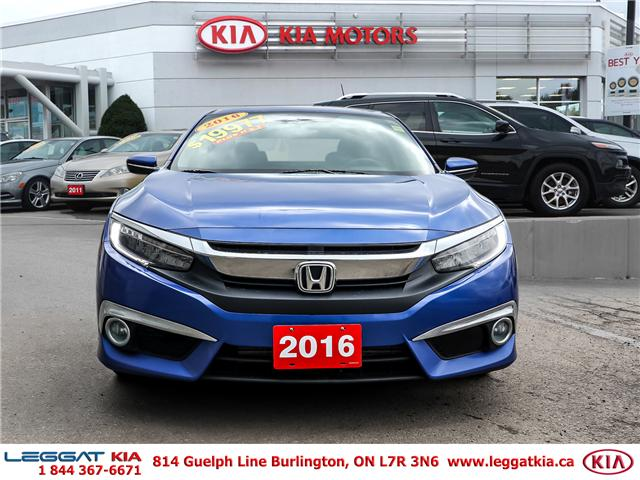 2016 Honda Civic Touring (Stk: 2366) in Burlington - Image 2 of 26