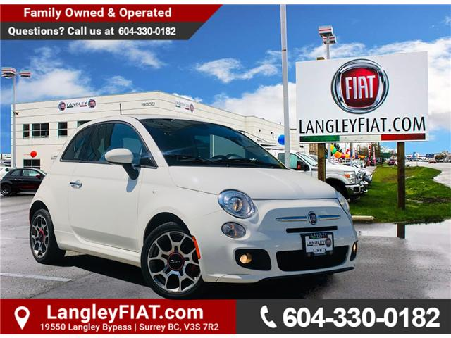 2014 Fiat 500 Sport (Stk: LF010490A) in Surrey - Image 1 of 25