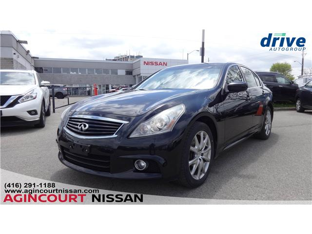 2013 Infiniti G37x Sport (Stk: JC144739B) in Scarborough - Image 1 of 22