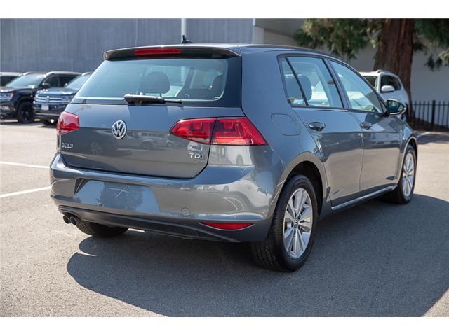 2015 Volkswagen Golf 2.0 TDI Comfortline (Stk: VW0870) in Vancouver - Image 7 of 29