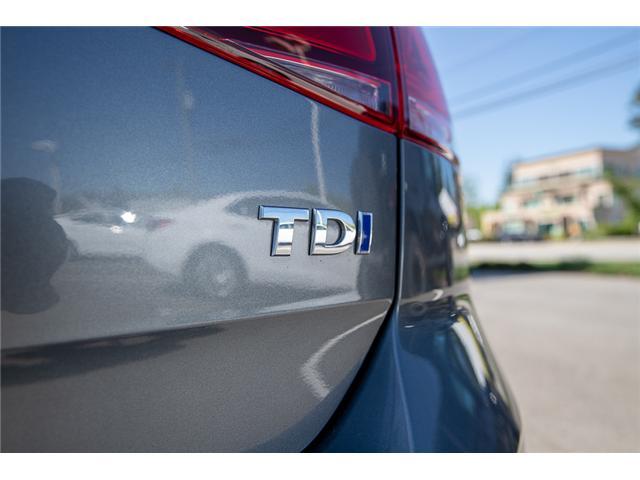 2015 Volkswagen Golf 2.0 TDI Trendline (Stk: VW0872) in Vancouver - Image 10 of 27