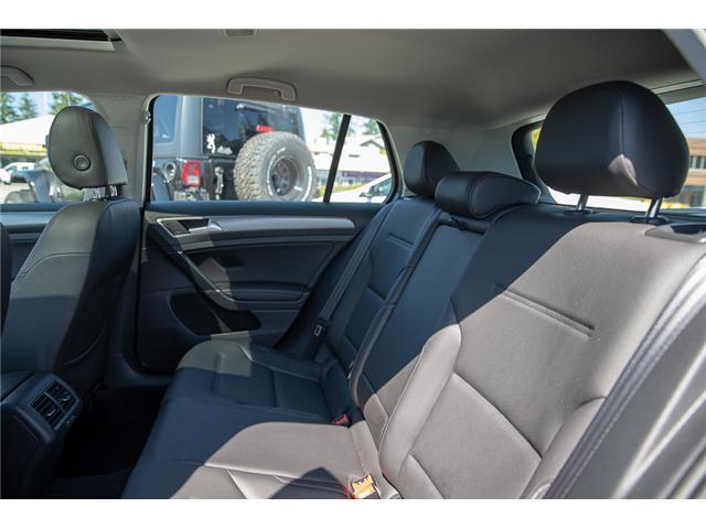 2015 Volkswagen Golf 2.0 TDI Comfortline (Stk: VW0870) in Vancouver - Image 14 of 29