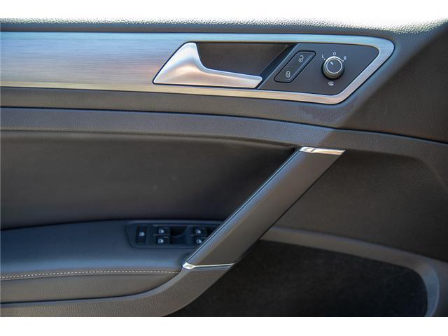 2015 Volkswagen Golf 2.0 TDI Comfortline (Stk: VW0870) in Vancouver - Image 21 of 29