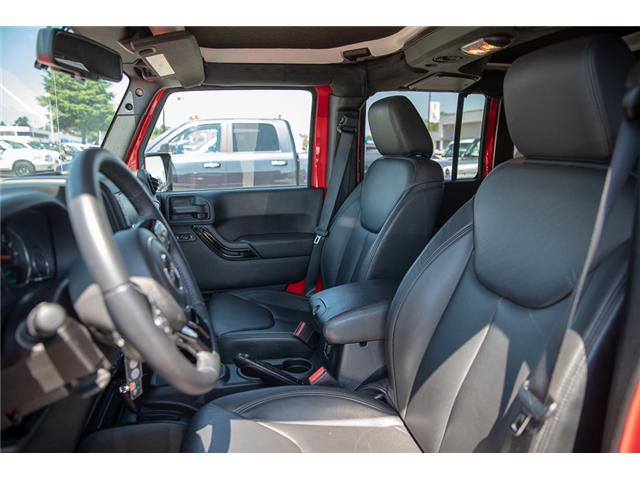 2015 Jeep Wrangler Unlimited Sahara (Stk: K602678A) in Surrey - Image 12 of 28