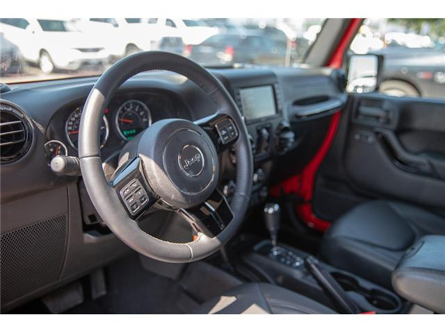 2015 Jeep Wrangler Unlimited Sahara (Stk: K602678A) in Surrey - Image 13 of 28