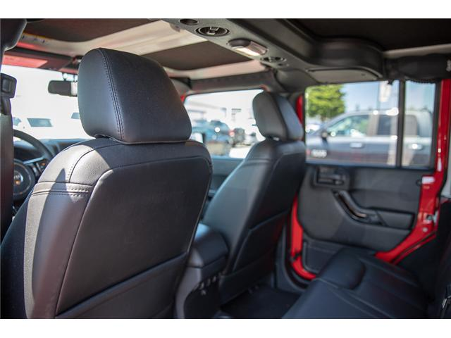 2015 Jeep Wrangler Unlimited Sahara (Stk: K602678A) in Surrey - Image 14 of 28