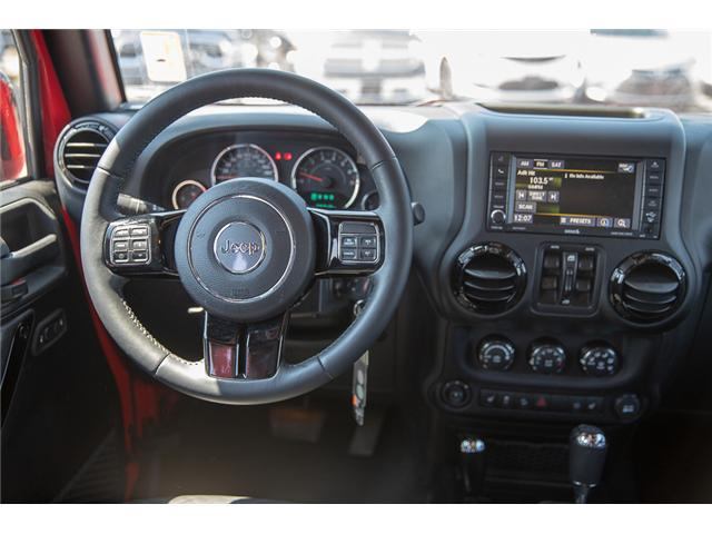 2015 Jeep Wrangler Unlimited Sahara (Stk: K602678A) in Surrey - Image 16 of 28