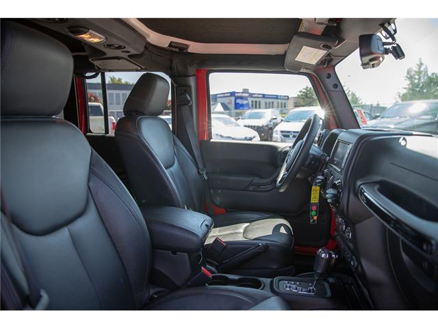 2015 Jeep Wrangler Unlimited Sahara (Stk: K602678A) in Surrey - Image 20 of 28