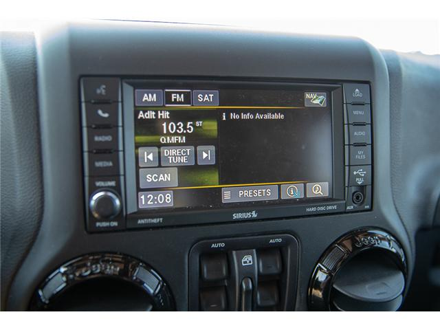 2015 Jeep Wrangler Unlimited Sahara (Stk: K602678A) in Surrey - Image 24 of 28