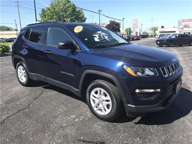 2018 Jeep Compass Sport (Stk: 1956A) in Windsor - Image 1 of 12