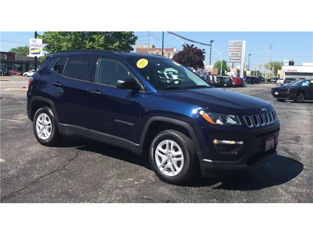 2018 Jeep Compass Sport (Stk: 1956A) in Windsor - Image 2 of 12