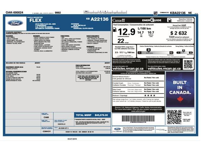 2019 Ford Flex SEL (Stk: FL19685) in Barrie - Image 2 of 27