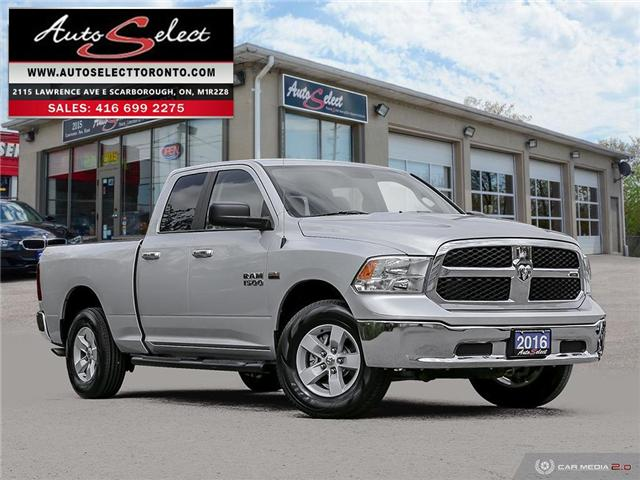 2016 RAM 1500 4x4 (Stk: 16RT4X2) in Scarborough - Image 1 of 28