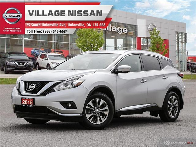 2015 Nissan Murano SL (Stk: 90223A) in Unionville - Image 1 of 27