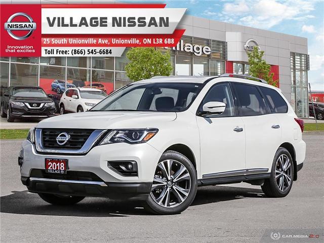 2018 Nissan Pathfinder Platinum (Stk: 80491) in Unionville - Image 1 of 27