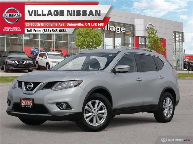 2016 Nissan Rogue SV (Stk: P2805) in Unionville - Image 1 of 27