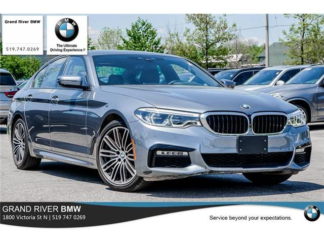 2018 BMW 540i xDrive (Stk: PW4855) in Kitchener - Image 1 of 22