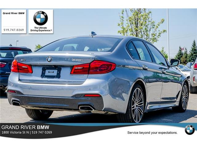 2018 BMW 540i xDrive (Stk: PW4855) in Kitchener - Image 7 of 22