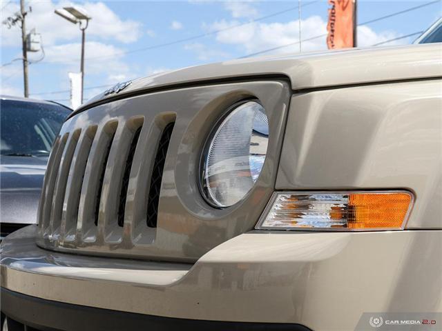 2017 Jeep Patriot Sport/North (Stk: A2810) in Saskatoon - Image 10 of 27