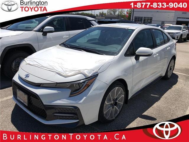 2020 Toyota Corolla SE (Stk: 202036) in Burlington - Image 1 of 5