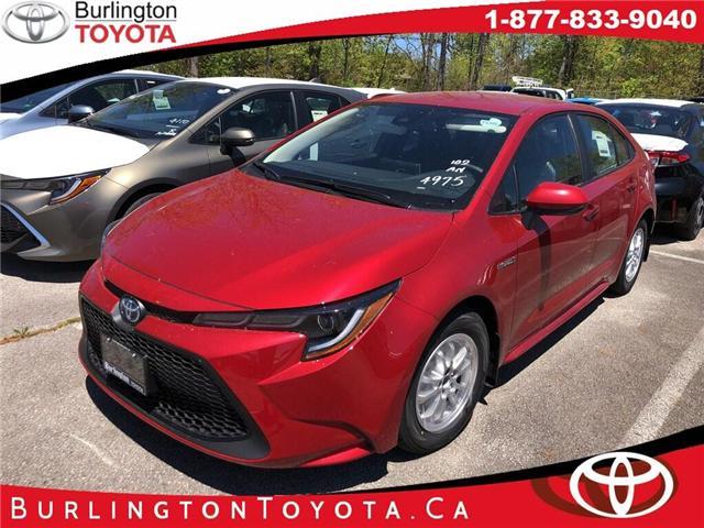 2020 Toyota Corolla Hybrid Base (Stk: 202035) in Burlington - Image 1 of 5